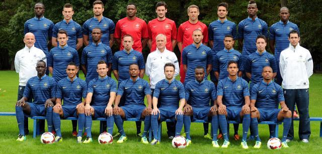 equipe de france en football