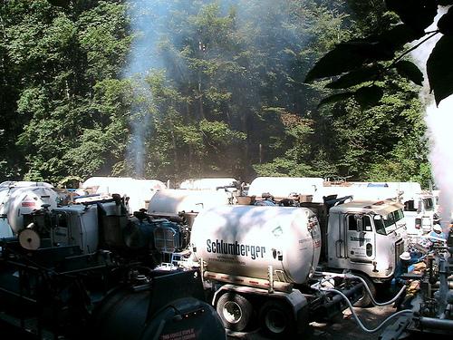 Camions-citernes pour la fracturation hydraulique